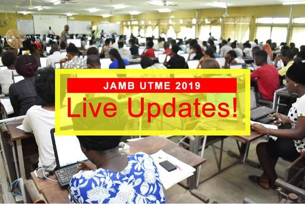 Live Updates from JAMB UTME 2019 - April 11