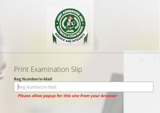 Date For Reprinting of 2019 JAMB Exam Slip Has Not Been Confirmed - JAMB